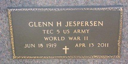JESPERSEN, GLENN H. (MILITARY) - Charles Mix County, South Dakota | GLENN H. (MILITARY) JESPERSEN - South Dakota Gravestone Photos