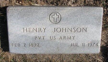 JOHNSON, HENRY - Charles Mix County, South Dakota | HENRY JOHNSON - South Dakota Gravestone Photos
