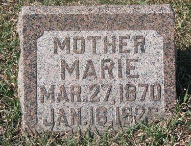 JOHNSON, MARIE - Charles Mix County, South Dakota   MARIE JOHNSON - South Dakota Gravestone Photos