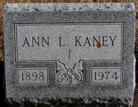 KANEY, ANN L. - Charles Mix County, South Dakota   ANN L. KANEY - South Dakota Gravestone Photos