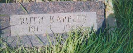 KAPPLER, RUTH - Charles Mix County, South Dakota | RUTH KAPPLER - South Dakota Gravestone Photos