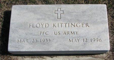 KITTINGER, FLOYD - Charles Mix County, South Dakota   FLOYD KITTINGER - South Dakota Gravestone Photos