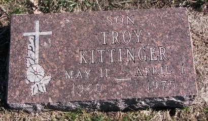 KITTINGER, TROY - Charles Mix County, South Dakota | TROY KITTINGER - South Dakota Gravestone Photos