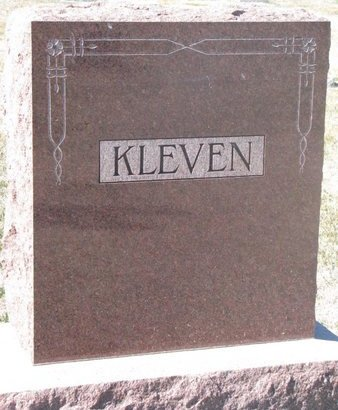 KLEVEN, *FAMILY MONUMENT - Charles Mix County, South Dakota | *FAMILY MONUMENT KLEVEN - South Dakota Gravestone Photos