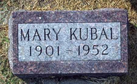 KUBAL, MARY - Charles Mix County, South Dakota | MARY KUBAL - South Dakota Gravestone Photos