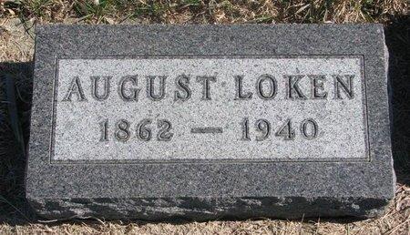 LOKEN, AUGUST - Charles Mix County, South Dakota | AUGUST LOKEN - South Dakota Gravestone Photos