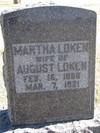 HANSON LOKEN, MARTHA - Charles Mix County, South Dakota | MARTHA HANSON LOKEN - South Dakota Gravestone Photos