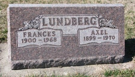 LUNDBERG, FRANCES - Charles Mix County, South Dakota | FRANCES LUNDBERG - South Dakota Gravestone Photos