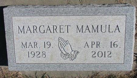 MAMULA, MARGARET - Charles Mix County, South Dakota | MARGARET MAMULA - South Dakota Gravestone Photos