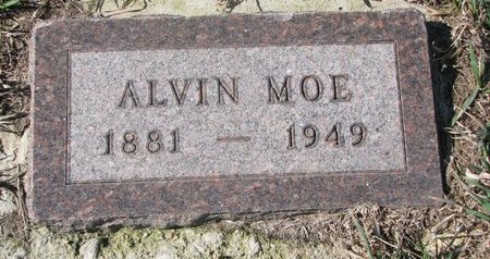 MOE, ALVIN - Charles Mix County, South Dakota | ALVIN MOE - South Dakota Gravestone Photos