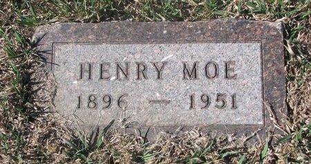 MOE, HENRY - Charles Mix County, South Dakota | HENRY MOE - South Dakota Gravestone Photos