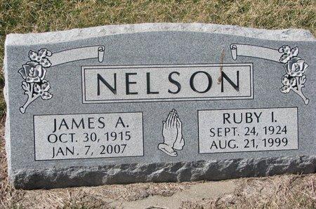 NELSON, RUBY I. - Charles Mix County, South Dakota | RUBY I. NELSON - South Dakota Gravestone Photos