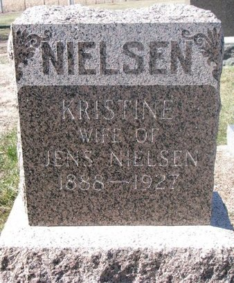 NIELSEN, KRISTINE - Charles Mix County, South Dakota | KRISTINE NIELSEN - South Dakota Gravestone Photos