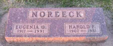 NORBECK, HAROLD - Charles Mix County, South Dakota | HAROLD NORBECK - South Dakota Gravestone Photos