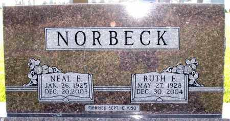 NORBECK, RUTH - Charles Mix County, South Dakota | RUTH NORBECK - South Dakota Gravestone Photos