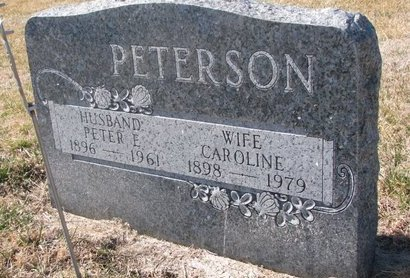 PETERSON, PETER EMIL - Charles Mix County, South Dakota | PETER EMIL PETERSON - South Dakota Gravestone Photos