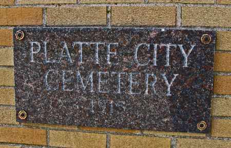*PLATTE, CITY CEMETERY - Charles Mix County, South Dakota | CITY CEMETERY *PLATTE - South Dakota Gravestone Photos
