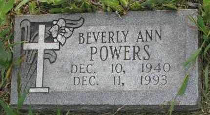 POWERS, BEVERLY ANN - Charles Mix County, South Dakota | BEVERLY ANN POWERS - South Dakota Gravestone Photos