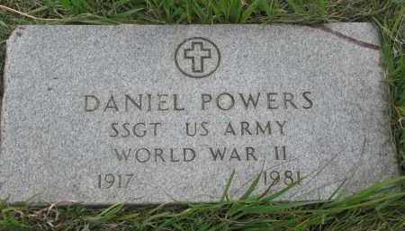 POWERS, DANIEL - Charles Mix County, South Dakota   DANIEL POWERS - South Dakota Gravestone Photos