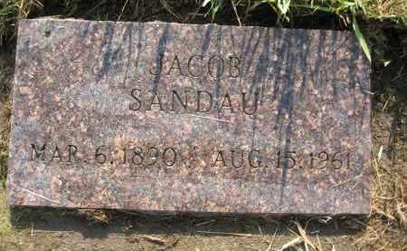 SANDAU, JACOB - Charles Mix County, South Dakota   JACOB SANDAU - South Dakota Gravestone Photos