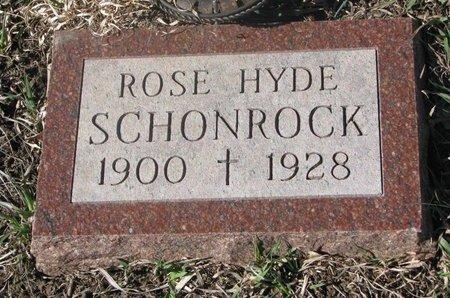 SCHONROCK, ROSE - Charles Mix County, South Dakota   ROSE SCHONROCK - South Dakota Gravestone Photos