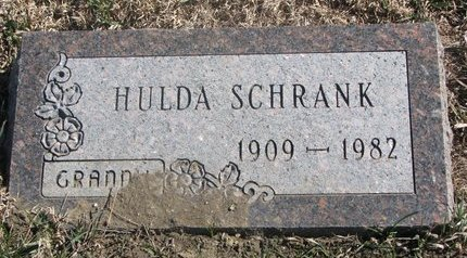 ZIEBART SCHRANK, HULDA - Charles Mix County, South Dakota | HULDA ZIEBART SCHRANK - South Dakota Gravestone Photos