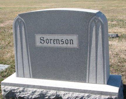 SORENSON, *FAMILY MONUMENT - Charles Mix County, South Dakota | *FAMILY MONUMENT SORENSON - South Dakota Gravestone Photos