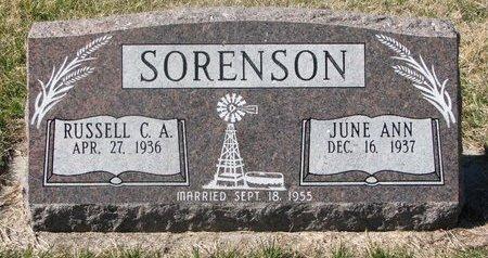SORENSON, JUNE ANN - Charles Mix County, South Dakota | JUNE ANN SORENSON - South Dakota Gravestone Photos