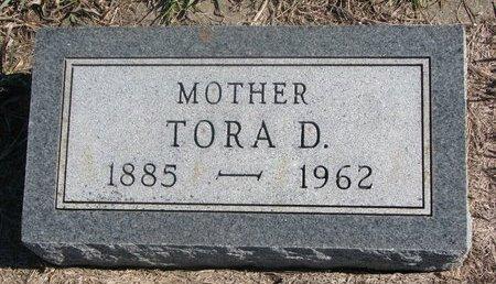 SORENSON, TORA D. - Charles Mix County, South Dakota | TORA D. SORENSON - South Dakota Gravestone Photos