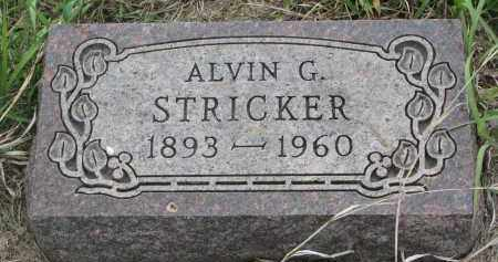 STRICKLER, ALVIN G. - Charles Mix County, South Dakota | ALVIN G. STRICKLER - South Dakota Gravestone Photos