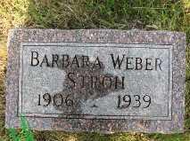 WEBER STROH, BARBARA - Charles Mix County, South Dakota | BARBARA WEBER STROH - South Dakota Gravestone Photos
