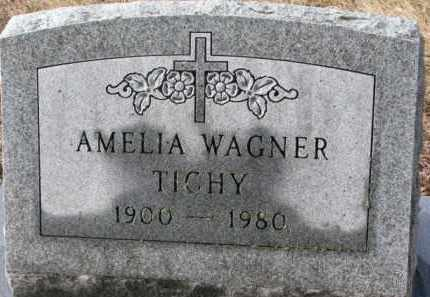 WAGNER TICHY, AMELIA - Charles Mix County, South Dakota | AMELIA WAGNER TICHY - South Dakota Gravestone Photos