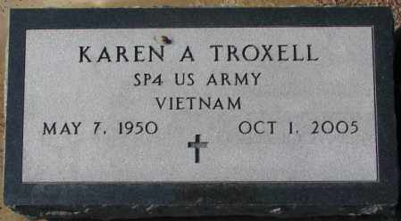 TROXELL, KAREN A. - Charles Mix County, South Dakota   KAREN A. TROXELL - South Dakota Gravestone Photos