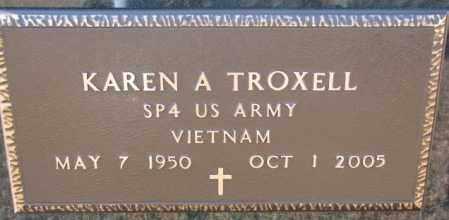 TROXELL, KAREN A. (VIETNAM) - Charles Mix County, South Dakota   KAREN A. (VIETNAM) TROXELL - South Dakota Gravestone Photos