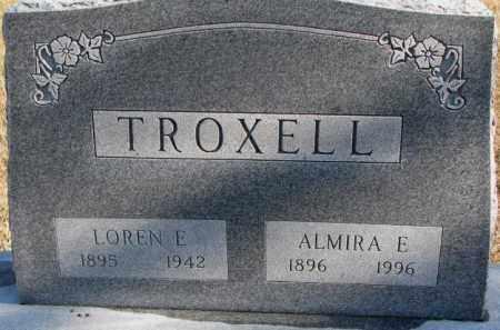 TROXELL, LOREN E. - Charles Mix County, South Dakota | LOREN E. TROXELL - South Dakota Gravestone Photos