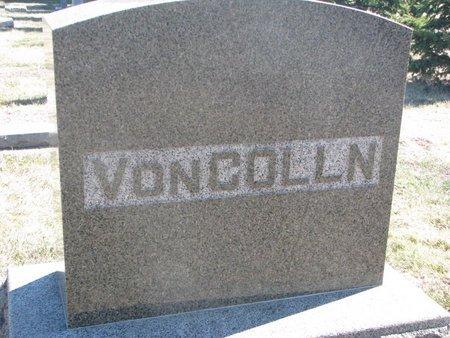 VON COLLN, *FAMILY MONUMENT - Charles Mix County, South Dakota | *FAMILY MONUMENT VON COLLN - South Dakota Gravestone Photos