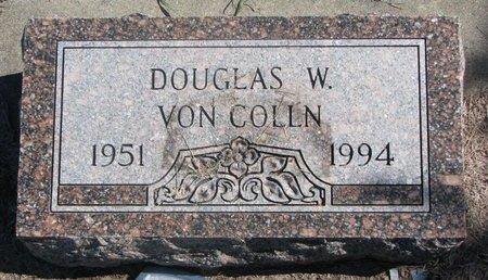 VON COLLN, DOUGLAS W. - Charles Mix County, South Dakota | DOUGLAS W. VON COLLN - South Dakota Gravestone Photos