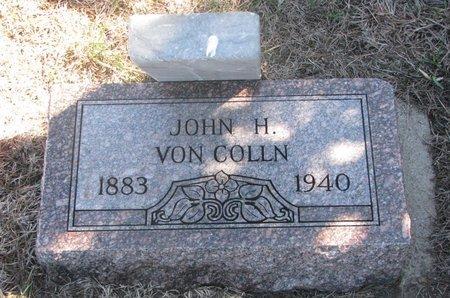 VON COLLN, JOHN H. - Charles Mix County, South Dakota | JOHN H. VON COLLN - South Dakota Gravestone Photos