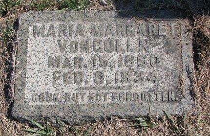 VON COLLN, MARIA MARGARET - Charles Mix County, South Dakota   MARIA MARGARET VON COLLN - South Dakota Gravestone Photos