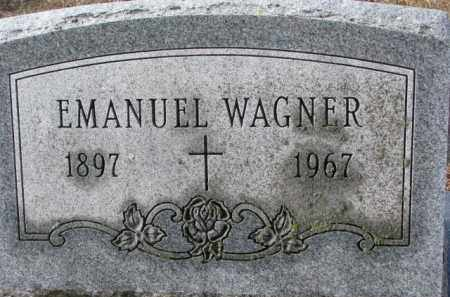 WAGNER, EMANUEL - Charles Mix County, South Dakota | EMANUEL WAGNER - South Dakota Gravestone Photos
