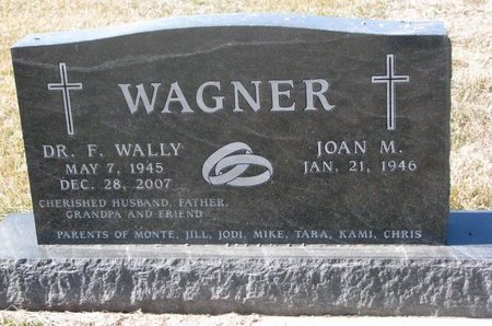 WAGNER, F. WALLY (DR.) - Charles Mix County, South Dakota | F. WALLY (DR.) WAGNER - South Dakota Gravestone Photos