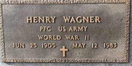 WAGNER, HENRY (WW II) - Charles Mix County, South Dakota | HENRY (WW II) WAGNER - South Dakota Gravestone Photos