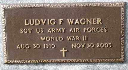 WAGNER, LUDVIG F. (WW II) - Charles Mix County, South Dakota | LUDVIG F. (WW II) WAGNER - South Dakota Gravestone Photos