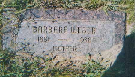 FISCHER WEBER, BARBARA - Charles Mix County, South Dakota   BARBARA FISCHER WEBER - South Dakota Gravestone Photos