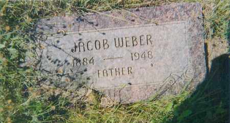 WEBER, JACOB - Charles Mix County, South Dakota | JACOB WEBER - South Dakota Gravestone Photos
