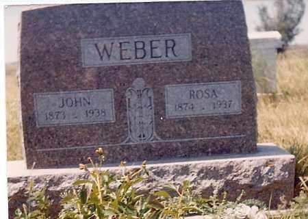 WEBER, ROSA (CLOSEUP) - Charles Mix County, South Dakota | ROSA (CLOSEUP) WEBER - South Dakota Gravestone Photos