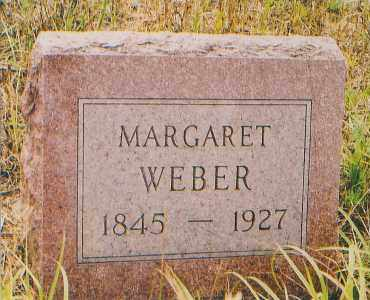 WEBER, MARGARET - Charles Mix County, South Dakota | MARGARET WEBER - South Dakota Gravestone Photos