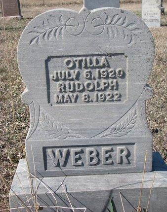 WEBER, OTILLA - Charles Mix County, South Dakota | OTILLA WEBER - South Dakota Gravestone Photos