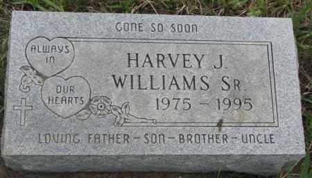 WILLIAMS, HARVEY J. SR. - Charles Mix County, South Dakota | HARVEY J. SR. WILLIAMS - South Dakota Gravestone Photos