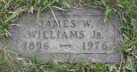 WILLIAMS, JAMES W. JR. - Charles Mix County, South Dakota | JAMES W. JR. WILLIAMS - South Dakota Gravestone Photos